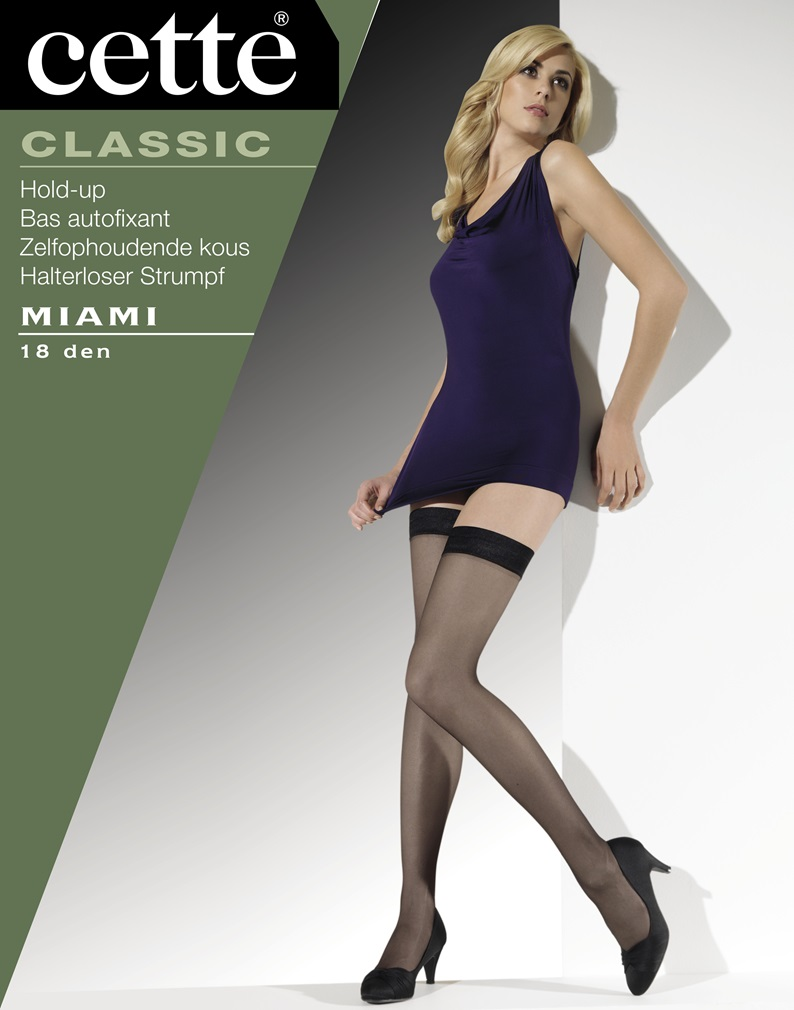 MIAMI Plain Hold Ups - Black