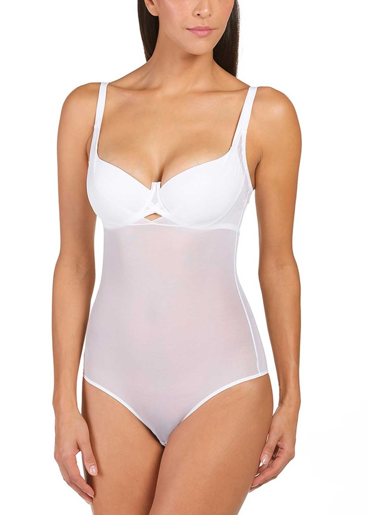 "PURE SHAPE Body ""Wear your own Bra"" - White"