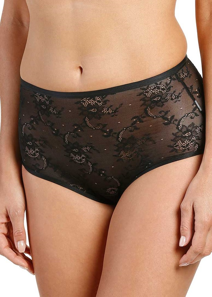 SOFT SHAPE High Waist Brief - Black