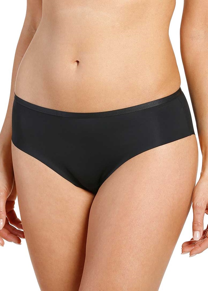 CLEAN CUT Seamless Bikini Brief - Black