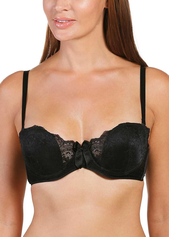 SOFT SHAPE Multiway Padded Bra -Black