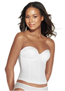 ARIEL Underwire Basque - White