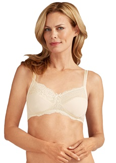 Amoena Lilly Ivory Pocketed Soft Cup Bra
