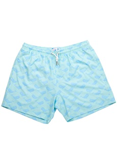 Bermies Blue Whale Original Swim Short
