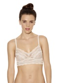 LACE KISS Bralette - Mother of Pearl