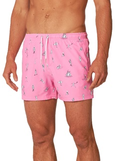 ORIGINALS Pink Beach Swim Short