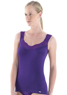 COMFORT Purple Vest Top