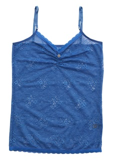 NOIR Full Lace Camisole - Blue
