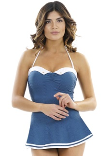 CRUISE Skirted Swimsuit