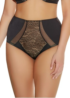 Elomi Raquel Black High Waist Brief