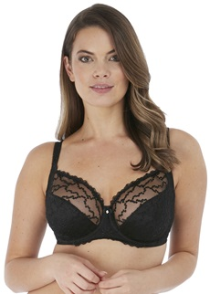 Fantasie Ana Black Side Support Bra
