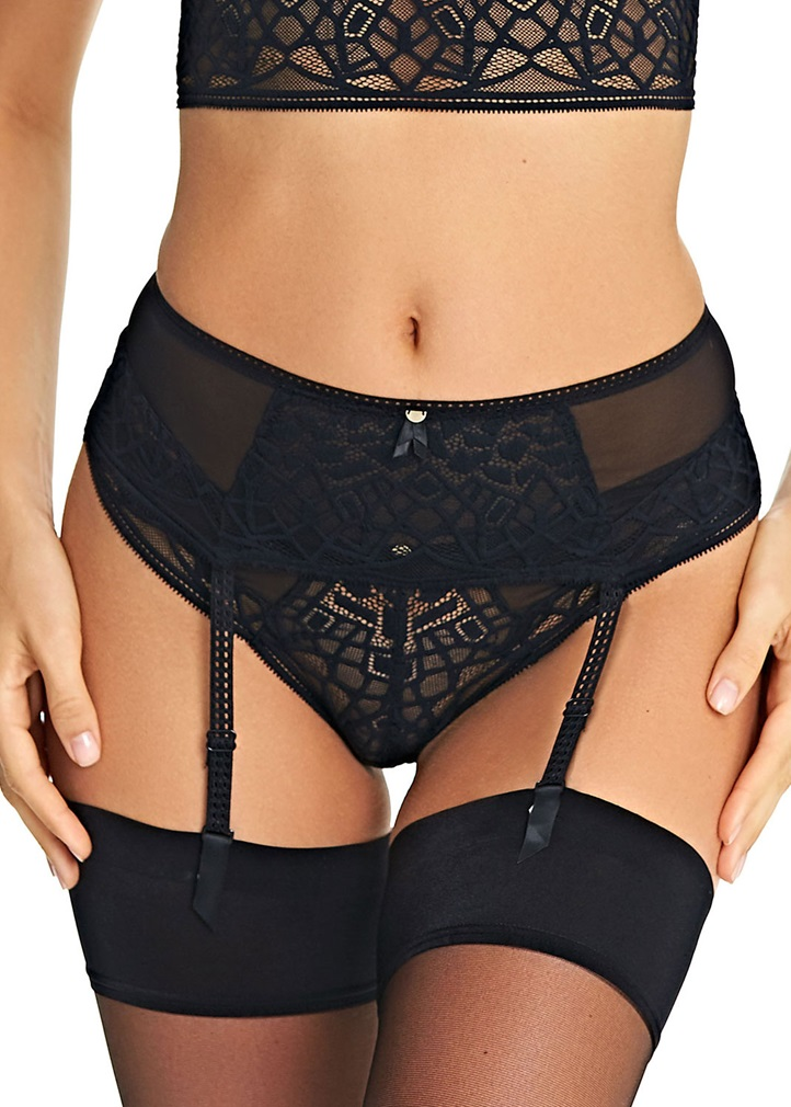 SOIREE LACE Suspender Belt