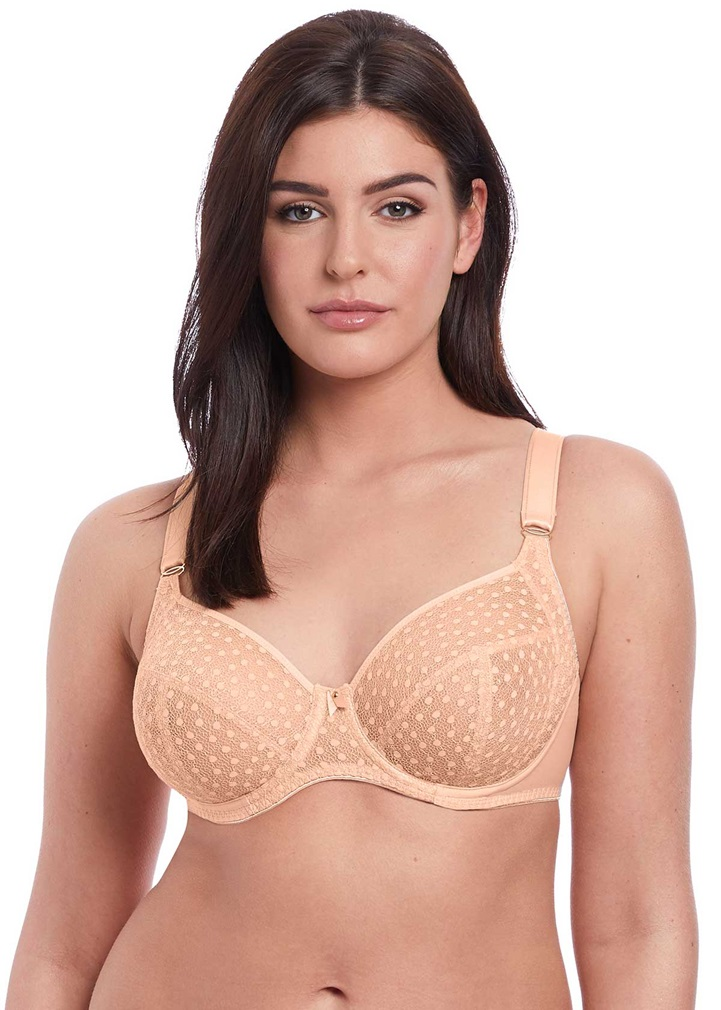 STARLIGHT Side Support Bra - Caramel