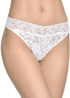 Hanky Panky Signature Lace White Original Rise Thong