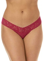 Hanky Panky Signature Lace Pink Low Rise Thong