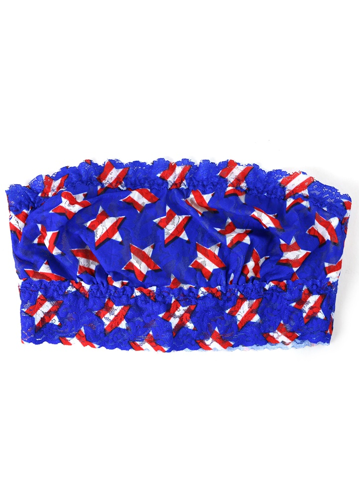 STAR SPANGLED Bandeau Bra