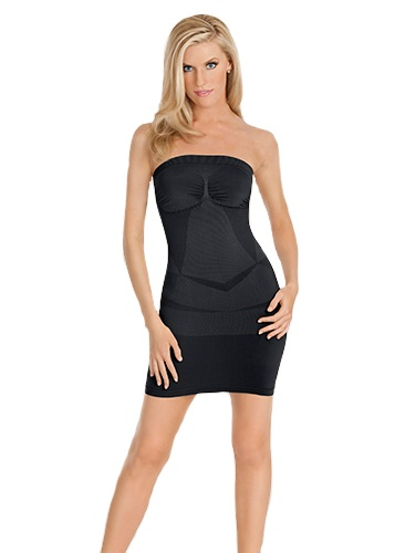 STRAPLESS Dress Shaper - Black