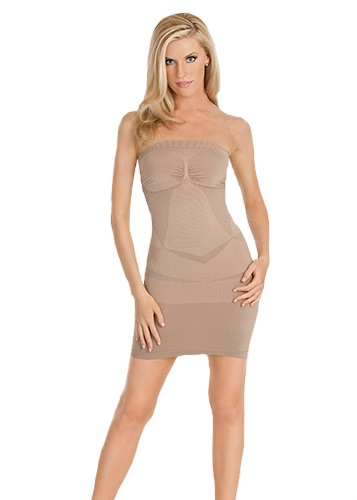 STRAPLESS Dress Shaper - Nude