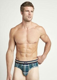 Jockey Cotton Stretch Deep Teal Brief 3 Pack