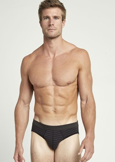 Jockey Active Cotton Black Brief 3 Pack