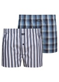 BEACH LIFE Woven Boxer 2 Pack - Deep Night