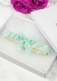 SIMPLY 'Bow' Bridal Garter