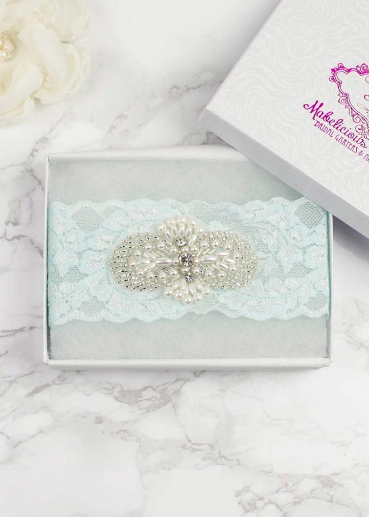 SIMPLY CHIC 'Lux' Bridal Garter
