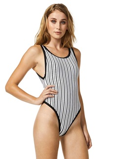 Piha Shadow Stripes Tank Swimsuit