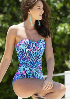 FREE SPIRIT Strapless Control Swimsuit