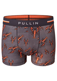 Pull In Master Lobster Cotton Boxer Short