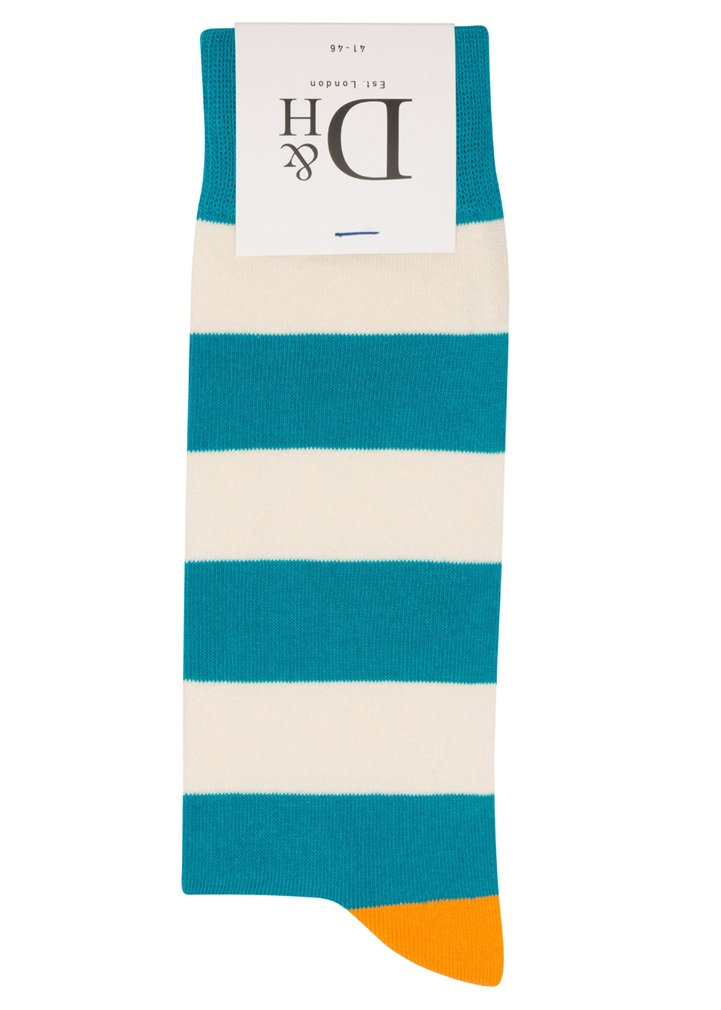 AQUA STRIPE Sock