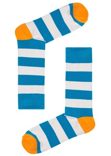 Drake & Hutch Aqua Stripe Sock