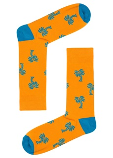 Drake & Hutch Palm Trees Sock