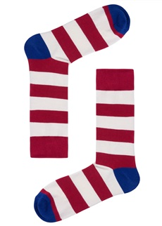 RED STRIPE Sock