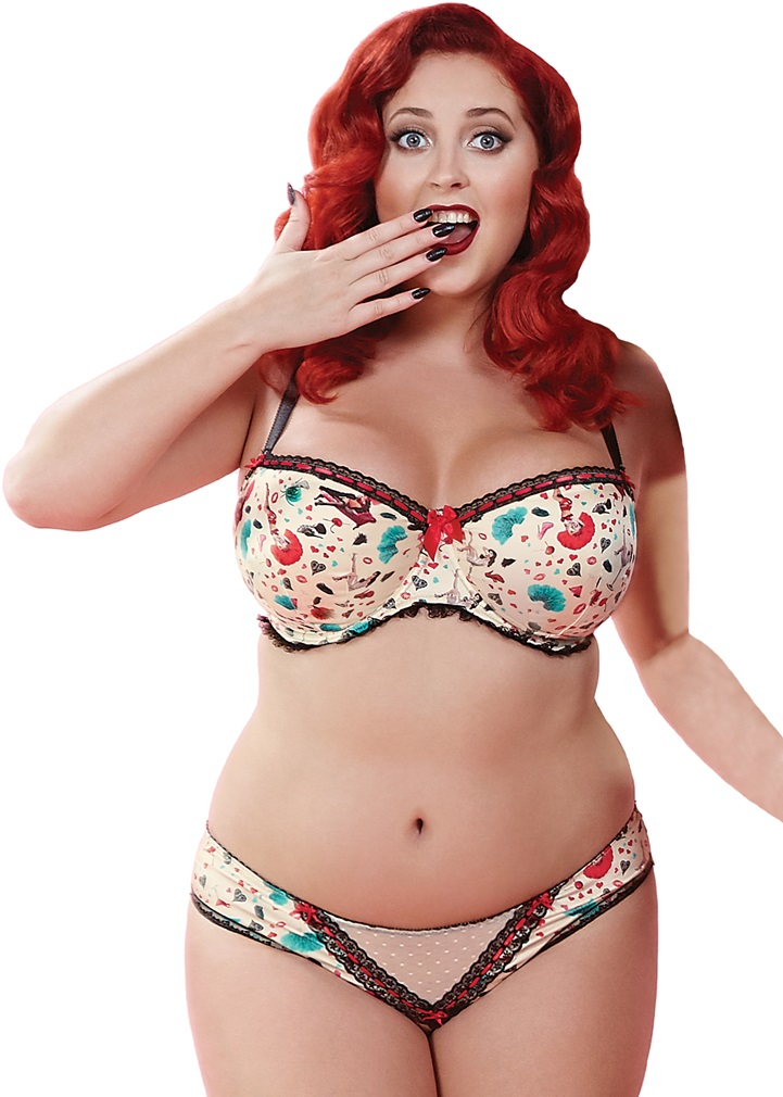 BETTY Padded Balcony Bra