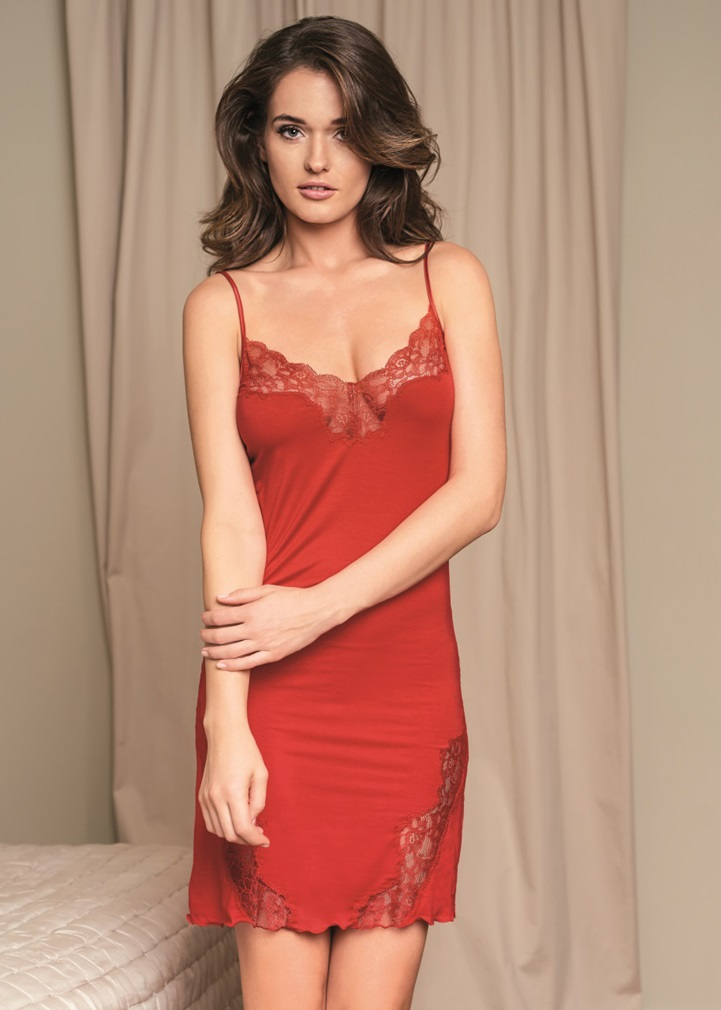 VANILLA Red Nightdress