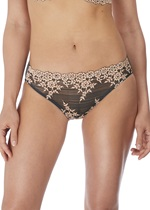 Wacoal Embrace Lace Ebony Bikini Brief