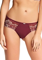 Wacoal Frivole Merlot Brief