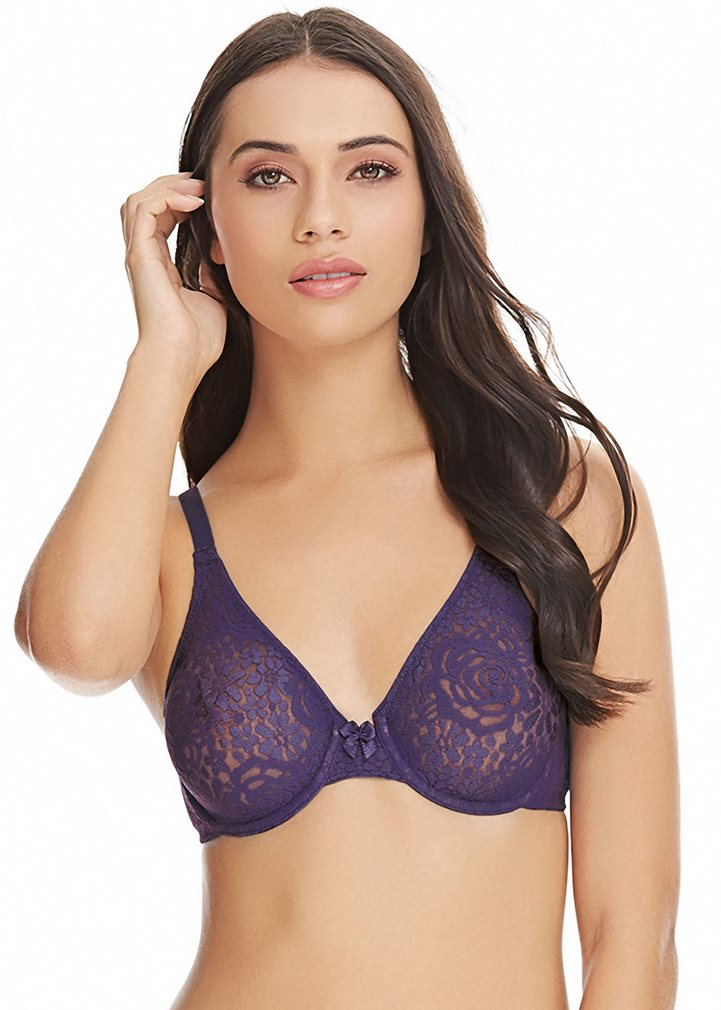 HALO LACE Underwired Bra - Astral Aura