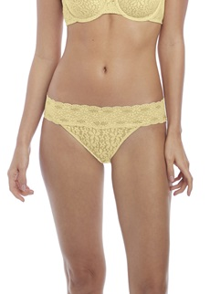 HALO LACE Brief - Lemon