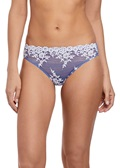 EMBRACE LACE Bikini Brief - Bleached Denim