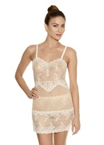 EMBRACE LACE Chemise - Nude