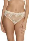 EMBRACE LACE High Cut Brief - Nude