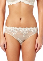 EMBRACE LACE Bikini Brief - Nude