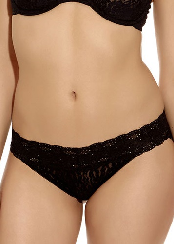 HALO LACE Brief - Black