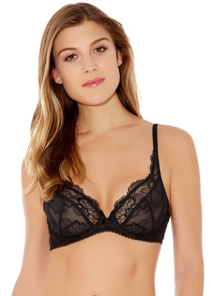 f12670a7a8aa3 Vision Plunge Underwire Bra - Wacoal Lingerie
