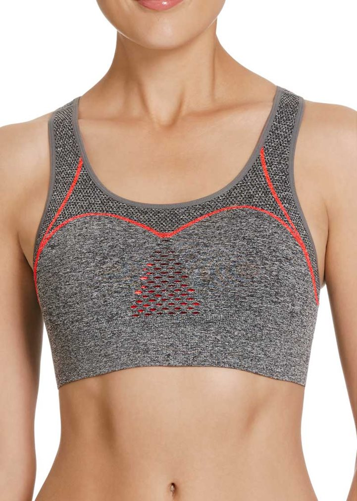 ELECTRIFY Seamfree Sports Bra - Marle