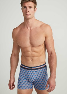 Jockey Cotton Stretch Nebulas Blue Boxer 3 Pack