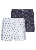 Jockey USA Originals Woven Boxer 2 Pack