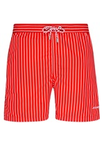 Jockey Nautical Beach Red Long Swim Short